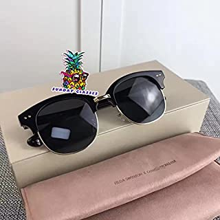 0e8d2915753e New Gentle Women Sunglasses V Brand Second Bosi 01 for gental Monster  Sunglasses-Black Frame