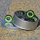 IMPORX 8 Pièces Roulements à Billes ABEC-9 Skateboard Roulements à...