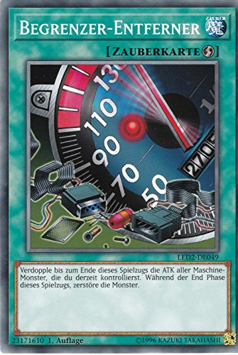 LED2-DE049 - Begrenzer-Entferner - Common - Yu-Gi-Oh - Deutsch - 1. Auflage