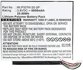 Synergy Digital Synergy Digital Battery Compatible Verizon Ellipsis 10 Tablet Battery (Li-Pol, 3.8V, 6600 mAh) - Repl. Ver...