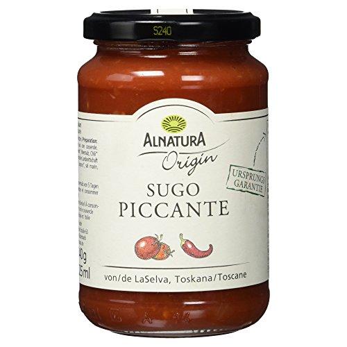 Alnatura Bio Origin Sugo Piccante, 6er Pack (6 x 325 ml)