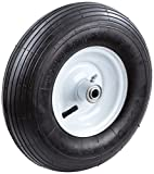 Tricam Farm and Ranch FR2200 Pneumatic Replacement Tire for Wheelbarrows and Utility Carts, 13-Inch, Black