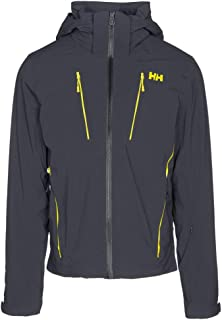 Helly Hansen Men's Alpha 3.0 Waterproof Insulated Ski Jacket, Graphite Blue, Small