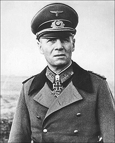 WWII German General Erwin Rommel Portrait 8x10 Silver Halide Photo Print