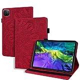 WHWOLF Housse Coque Convient à iPad Pro 12.9 (2020 & 2018 Version) Étui de Protection Tablette...