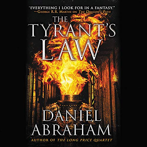 The Tyrant's Law Audiobook By Daniel Abraham cover art