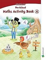 Navneet Grafalco - Maths Activity Book - A Jr. Kg.   English   Pre School Book  