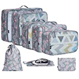 BAGAIL 7 Set / 8 Set Packing Cubes Luggage Packing Organizers for...