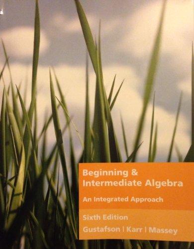 BEGINNING+INTERMEDIATE ALGEBRA