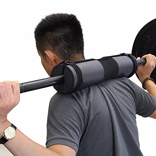 Tuzi Qiuge Kniebeugen Nacken- und Schulterschutz Padschwämme elastischer Sport QiuGe