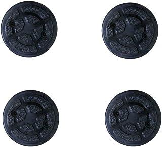 MINMIN 4 STK. Jack Pad Lift Gummipad Rahmenschienenadapter Für Wagenheber Gummiauflage Quetschschweiß Seitenheber Auto Lift Gummipads Werkzeug Für Wagenheber