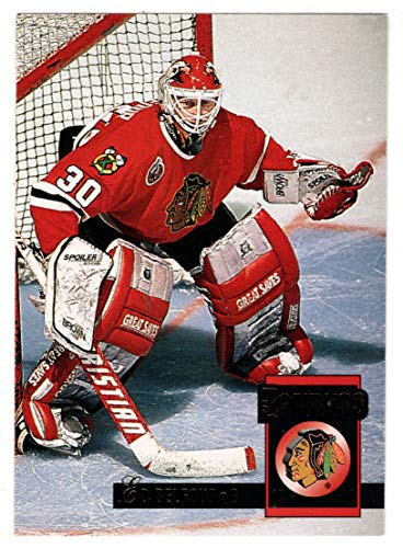 Ed Belfour - Chicago Blackhawks (Hockey Card) 1993-94 Donruss # 64 Mint