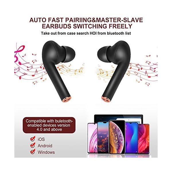 Wireless Earbuds, Bluetooth 5.0 Sport in-Ear Earphones Headset with Charging Case 4