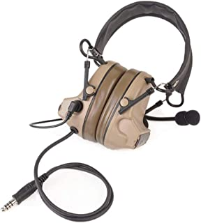 Z Tactical Headset Headphone COMTAC 2 Style Noise Reduction Headset NEW
