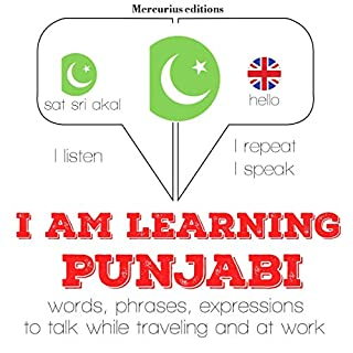I am learning Punjabi audiobook cover art