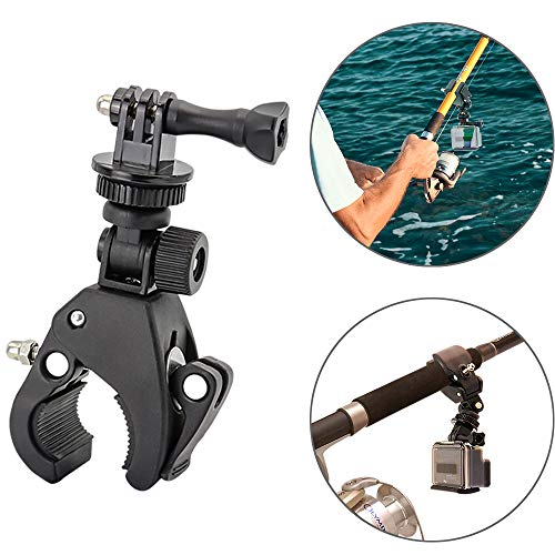 Easy-Mounted Gun/Rod/Bow Camera Clamp Mount for GoPro Hero 7...
