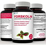 Premium 100% Pure Forskolin Extract, Supports Healthy Weight Loss, Helps Boost Metabolism, & Promotes Energy Levels. 250mg of Coleus Forskolin per Serving.