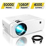 Mini Vidéoprojecteur, ELEPHAS 4000 Lumens Projecteur Portable Soutien 1080P...