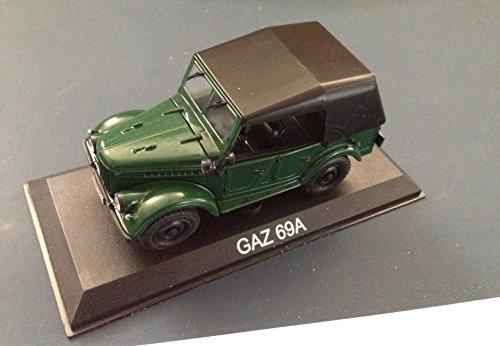 Générique GAZ 69A Voiture Miniature 1/43 IXO IST Legendary Car Auto B29