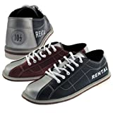 Bowlerstore Classic Mens Rental Bowling Shoes (6 M US, Blue/Red/Silver)