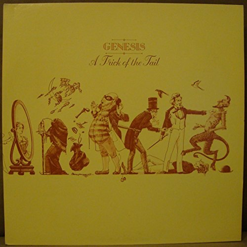 Genesis: A Trick Of The Tail (Fold-Open Gatefold Cover With Full Lyrics Inside) [Vinyl LP] [Stereo]