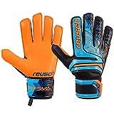 Reusch Prisma SD LDT, Guante de Portero, Blue-Black-Orange, Talla 11