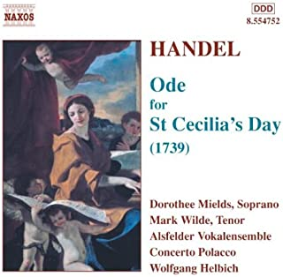Handel: Ode for St Cecilia's Day