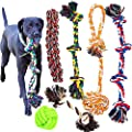 Youngever 6 Pack Dog Rope Toys, Puppy Chew Toys Dog Toys for Medium to Large Dogs