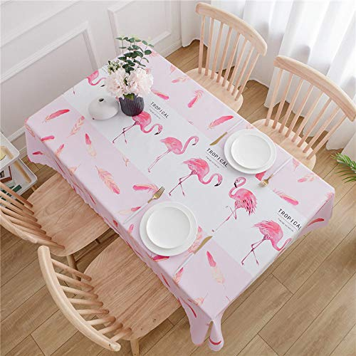 XIAOE Home Decoration Rectangular Grey Wipe Clean Pvc Tablecloth (various Sizes) Square Rectangle Vinyl Table Cloth Cover Oil Proof Waterproof Stain Resistant Mildew Proof 135 * 135cm