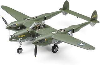 Tamiya 61120-000 1:48 US P-38 F/G Lightning, Faithful Replication, Model Building, Crafts, Hobbies, Gluing, Plastic Constr...