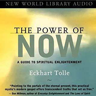 The Power of Now audiobook cover art