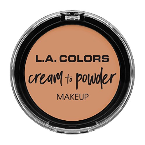 L.A Colors Cream To Powder Foundation, Shell, 5g