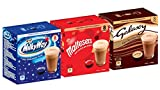 CaffeLuxe Galaxy, Milky Way & Maltesers Hot Chocolate - 8 Pods of Each Flavour - Dolce Gusto Compatible Pods