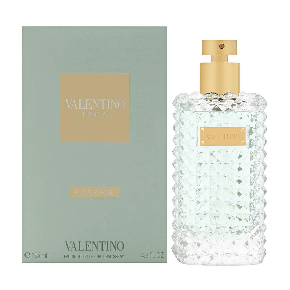 Valentino Donna Rose Verde Spring new work one after another for Women 4.2 Eau Deluxe De Spray Toilette