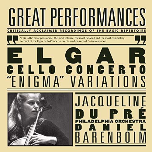 Jacqueline du Pré, Daniel Barenboim, London Philharmonic Orchestra, The Philadelphia Orchestra