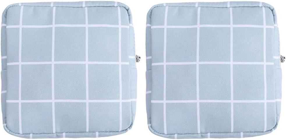SDENSHI Latest item 2pcs Translated Sanitary Napkins Bag Tampons Bags Collect Zipper
