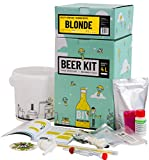 Saveur Bière - Kit de Brassage Débutant, Je Brasse ma bière Maison - 4L de bière - Idée Cadeau 100% découverte - Anniversaire (Kit de Brassage Bière Blonde)