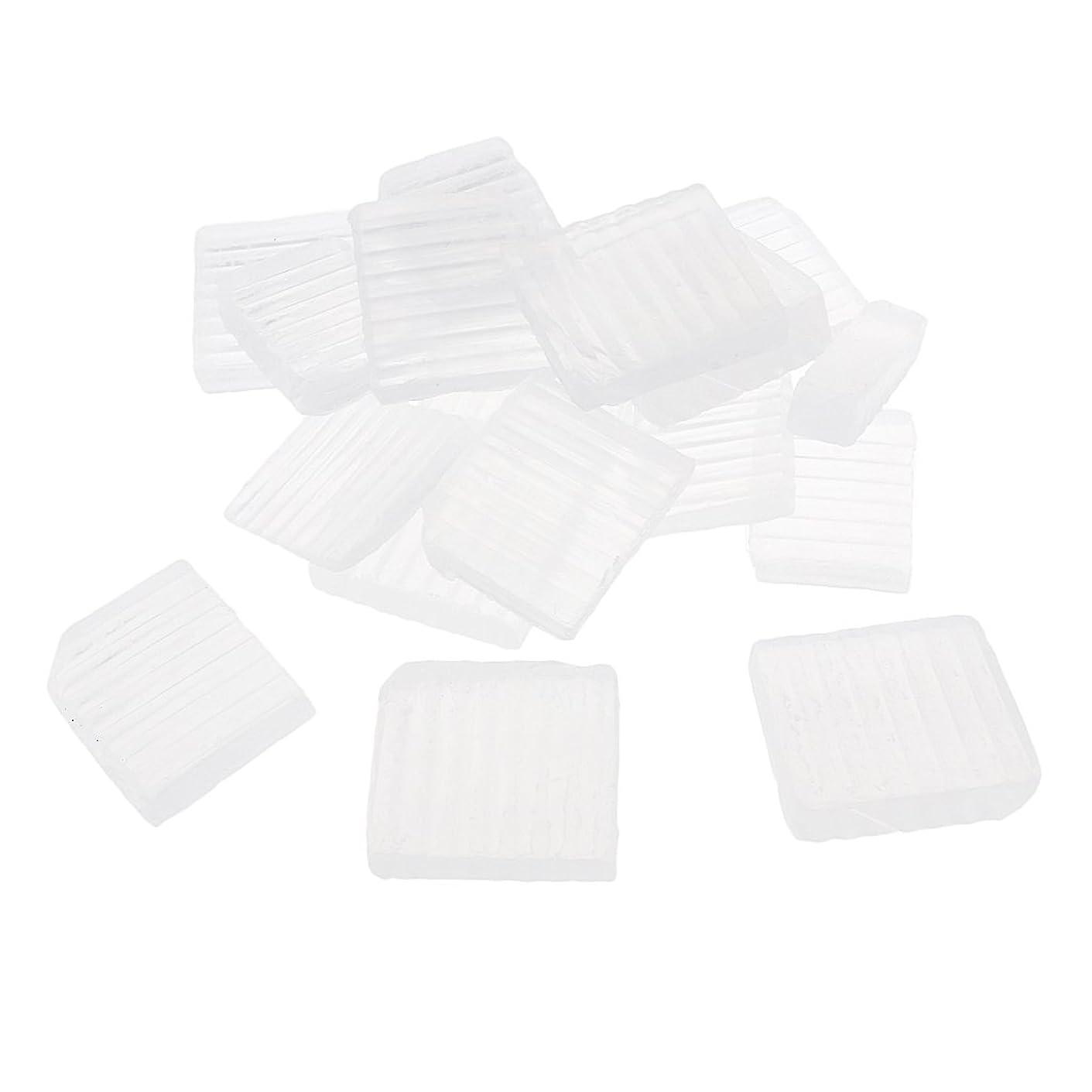 是正医学郡P Prettyia 透明 石鹸ベース DIY 手作り 石鹸 材料 約1 KG DIYギフト