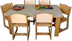 Strictly for Kids Mainstream Preschool Rectangular Table (30 in. x 48 in.)