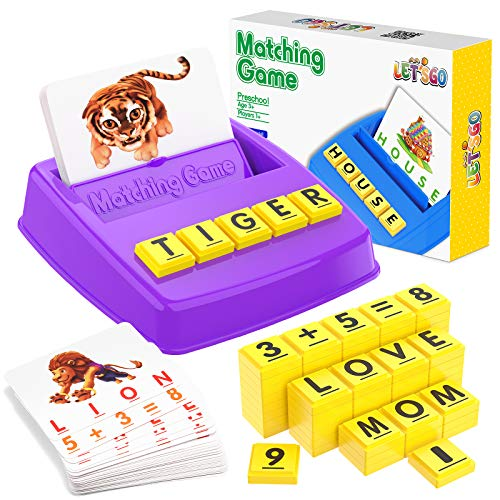 Toyze 2-in-1 Matching Letter Game f…