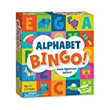 Product Image of the Peaceable Kingdom Alphabet Bingo! Letter Learning Board Game for Kids
