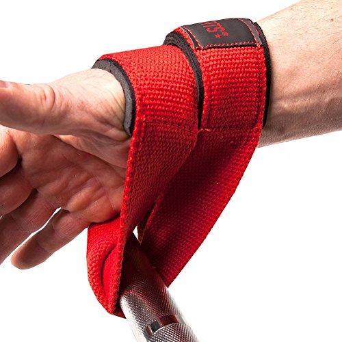 C.P. Sports Zughilfen Ruck Zuck Schlaufen – Figure 8 Straps 8er Schlaufen, Double Loop, Lifting Strap - 6