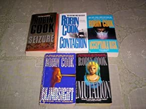 Robin Cook - (Set of 5) - Not a Boxed Set (Contagion - Seizure - Mutation - Acceptable Risk - Blind Sight)