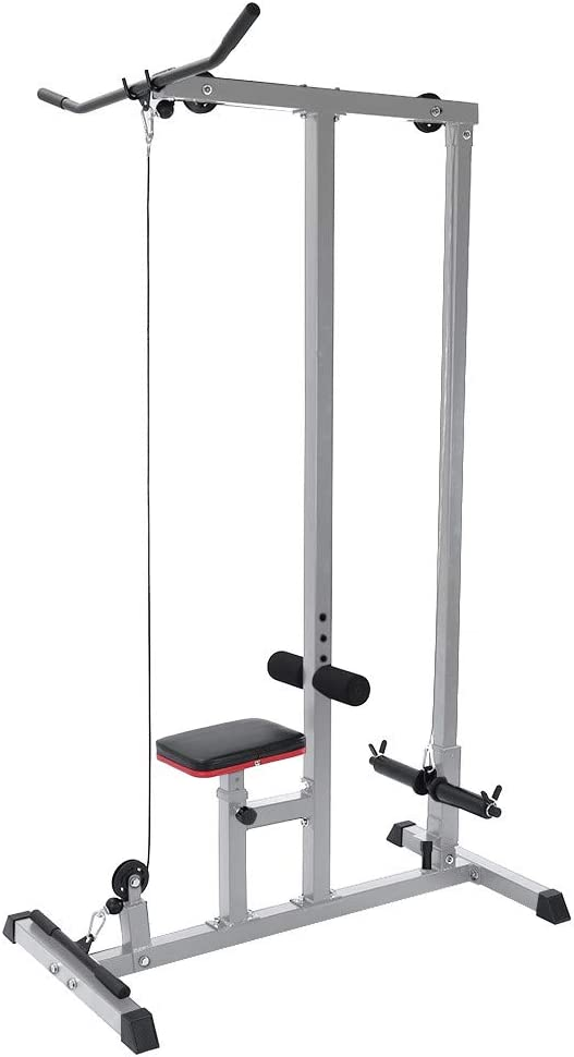 Tampa Luxury goods Mall Gym Heavy Duty LAT Pulldown and Low Cable Row Machi Pulley