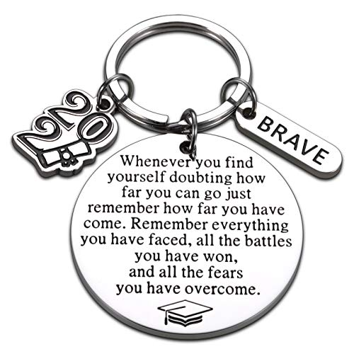 2021 Graduation Inspirational Key Chain for Her Him Class of 2021...