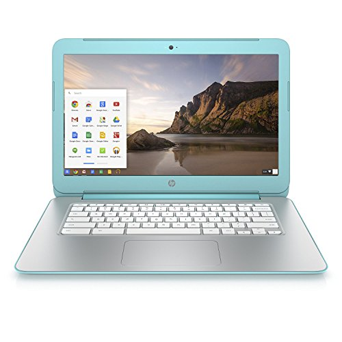 HP 14-x030nr Chromebook - 14in HD LED Display/16GB eMMC/2GB DDR3L SDRAM- Ocean Turquoise (Renewed)