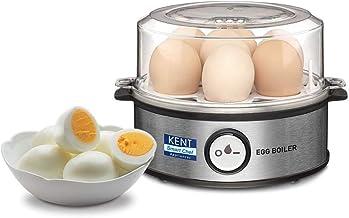 Kent Instant Egg Boiler 360-Watt (Transparent and Silver Grey)