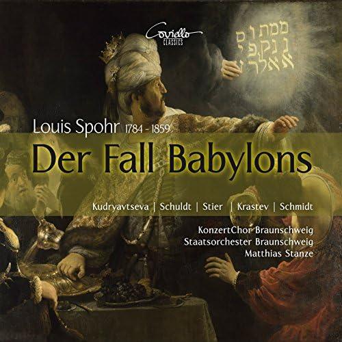 Matthias Stanze, Staatsorchetser Braunschweig & KonzertChor Braunschweig