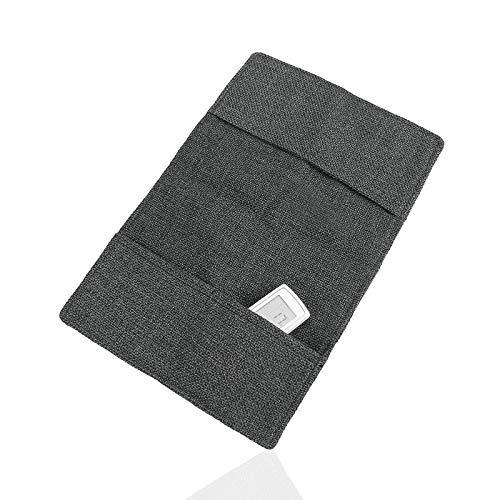 Bolsa de almacenamiento para sofá colgante con reposabrazos, organizador para sofá, televisión, mando a distancia, papel 2, color negro