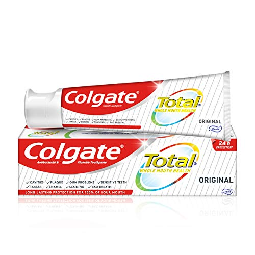 Colgate Total Original Antibacterial Fluoride Toothpaste, 125 ml